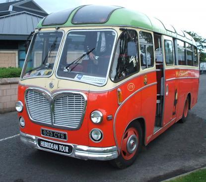 MacBraynes Bus - 1961 Restored Bedford Coach
