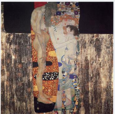 Gustav Klimt: Three Ages Of Woman