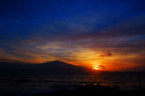 Sunrise Kaho'olawe Hawaii