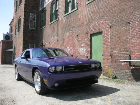 2010 Plum Crazy Dodge Challenger R/T Classic