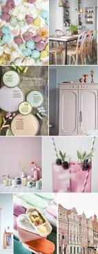 Chalky Pastels Moodboard
