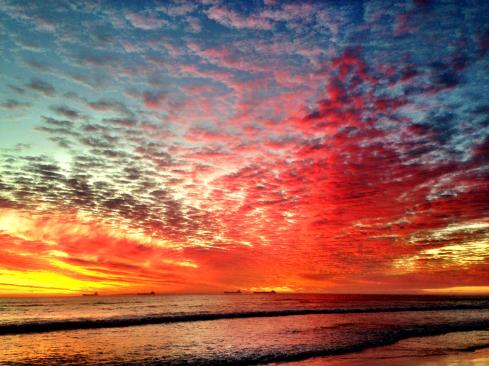 Sunset ~ Cape Town ~ 3 May 2014