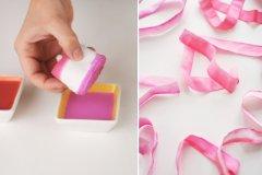 DIY Ombre Ribbon