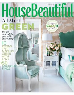 House Beautiful March 2012
