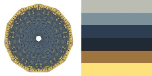Colourlovers community: Seven colour palettes you liked best