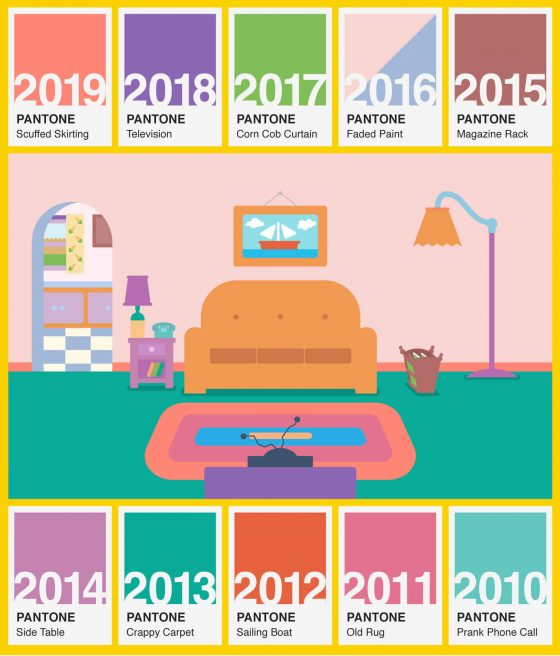 Did The Simpsons Predicts Pantone's Color of the Year?