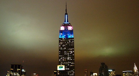 The Empire State Building Loves Color