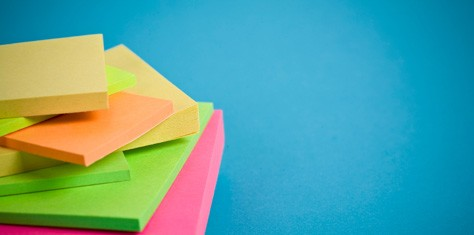 Post-it Art : Productivity in Many Wonderful Colors