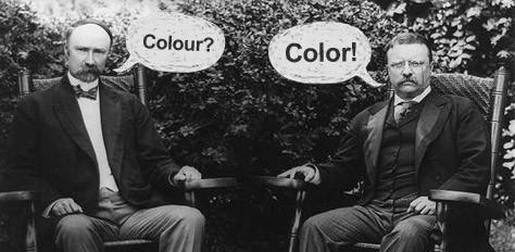 Color vs. Colour - The Great Spelling Battle
