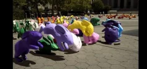 Sony Bravia Multiplies Like Colorful Rabbits