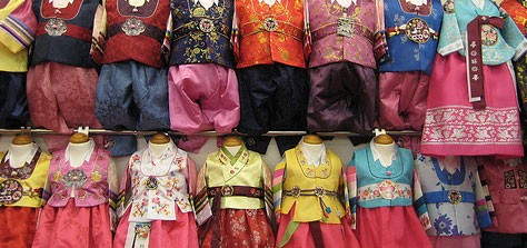 New Year's Colors: The Korean Hanbok