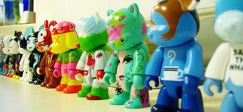 Vinyl Toys: Invasion of the Color Snatchers