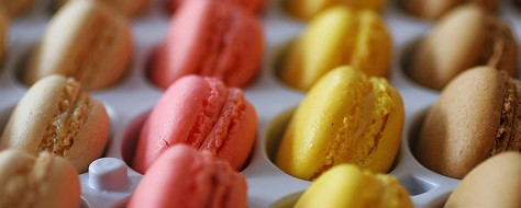 Whet Your Palate: Colorful French Macarons