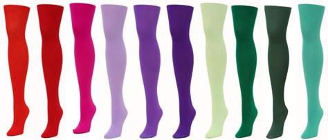 We Love Colors Clothing: Tights, Leggings and More