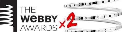 Webby Awards Best Community Nominee  x2