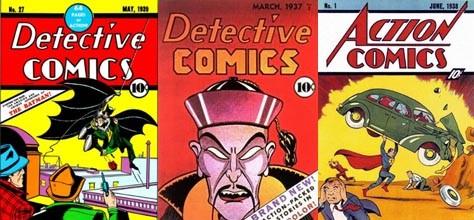 Classic Colors: DC Comic Characters