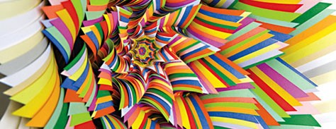 The Colorful Art of Paper Sculpture