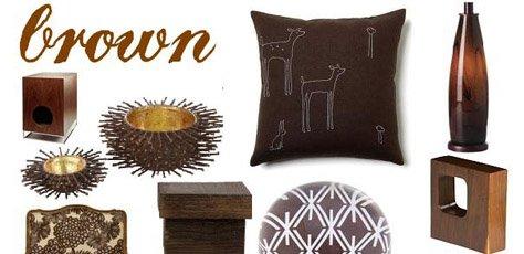 Interior Design Trends: Brown