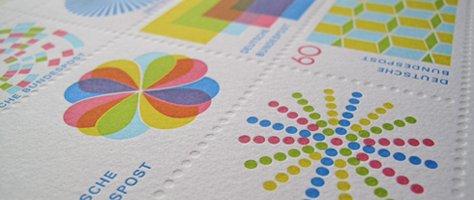Color & Design: Postage Stamps