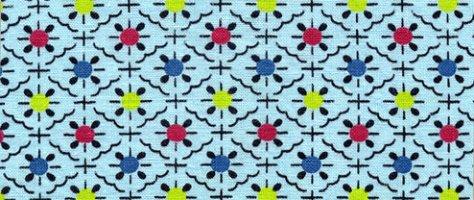 Vintage Color & Design: Blue Fabric