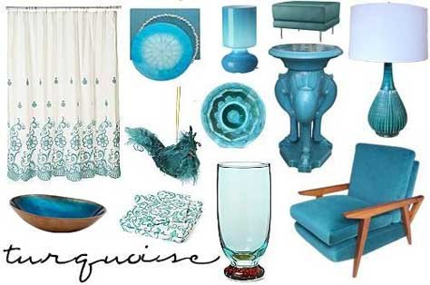 Interior Design Trends: Turquoise