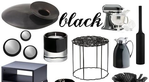 Interior Designs Trends: Black