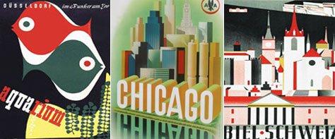 Vintage Color & Design: Mid-20th c. Euro Poster Art