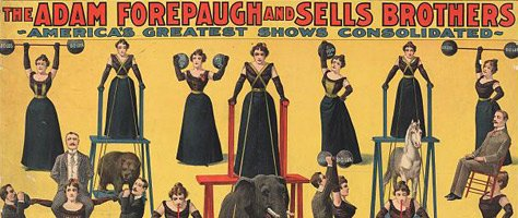 Vintage Color & Design: Circus Posters