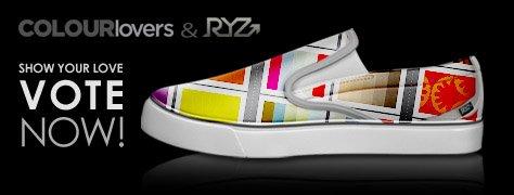 RYZ Shoe Design Contest: Voting Begins!