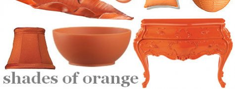 Interior Design Trends: Orange