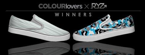 RYZ Shoe Design Contest: Winners Announced