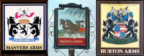 Color & Design: British Pub Signs