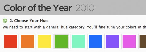 """""""Experts"""" Name Colors of 2010... But What's Yours?"""
