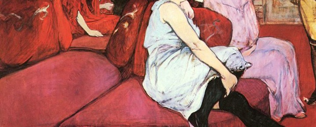 Color Inspiration: Women of Easy Virtue in Art