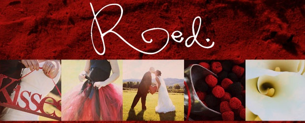 Wedding Colour: RED