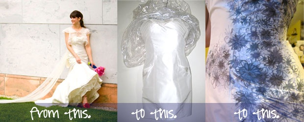 Smart, Sexy Wedding Dress Transformation
