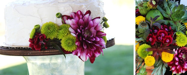 DIY - Rustic Wedding Cake Stands