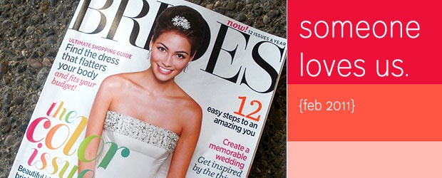 COLOURlovers {Mention} in BRIDES Magazine!