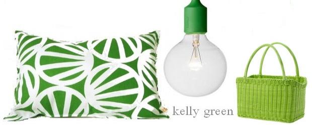 Interior Design Trends: Kelly Green