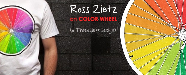 The Design Minute: Threadless Product Director Ross Zietz on Color Wheel