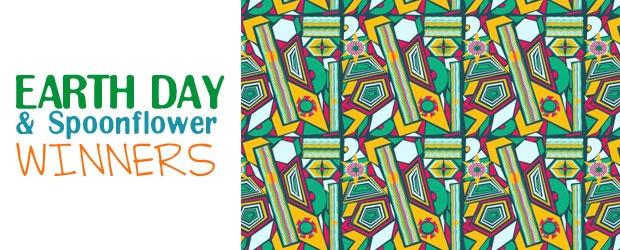 Winners Announced: Earth Day Giveaway & Spoonflower Bucks