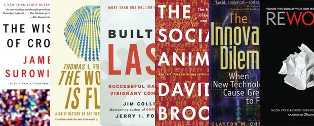 Popular Business Books & Their Color Designs