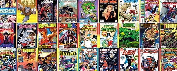 The Colors of Good vs. Evil: Comic Book Color Palettes [infographic]