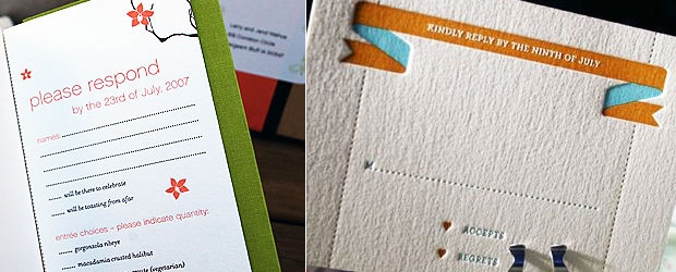 Creative Invitations: Perforations at their Finest