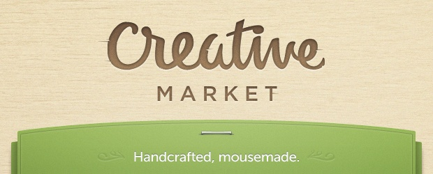 Creative Market ~ A New Kind of Marketplace for Handcrafted, Mousemade Design Content