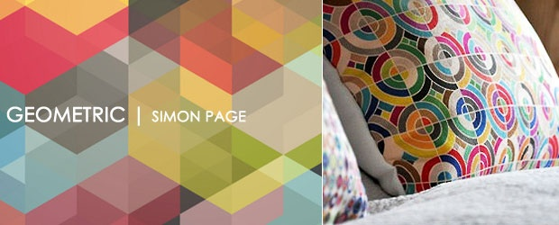 Geometric Home Design Elements of Simon Page