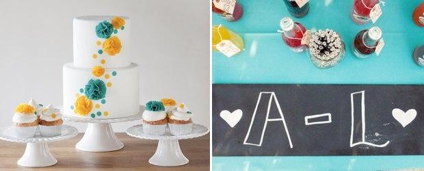 CMYK Wedding Inspiration by Lover.ly