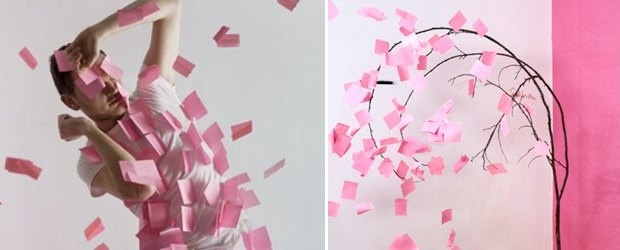 Post-It Note Art + Photography