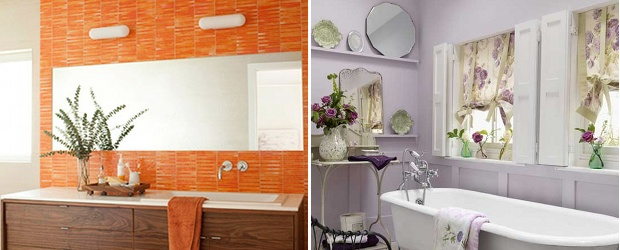 Colourful Bathroom Trends for 2012