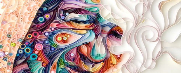 Colorful Paper Art by Yulia Brodskaya